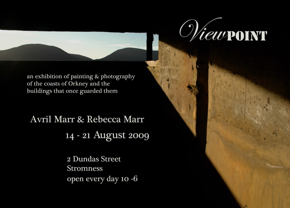 Viewpoint exhibition invite