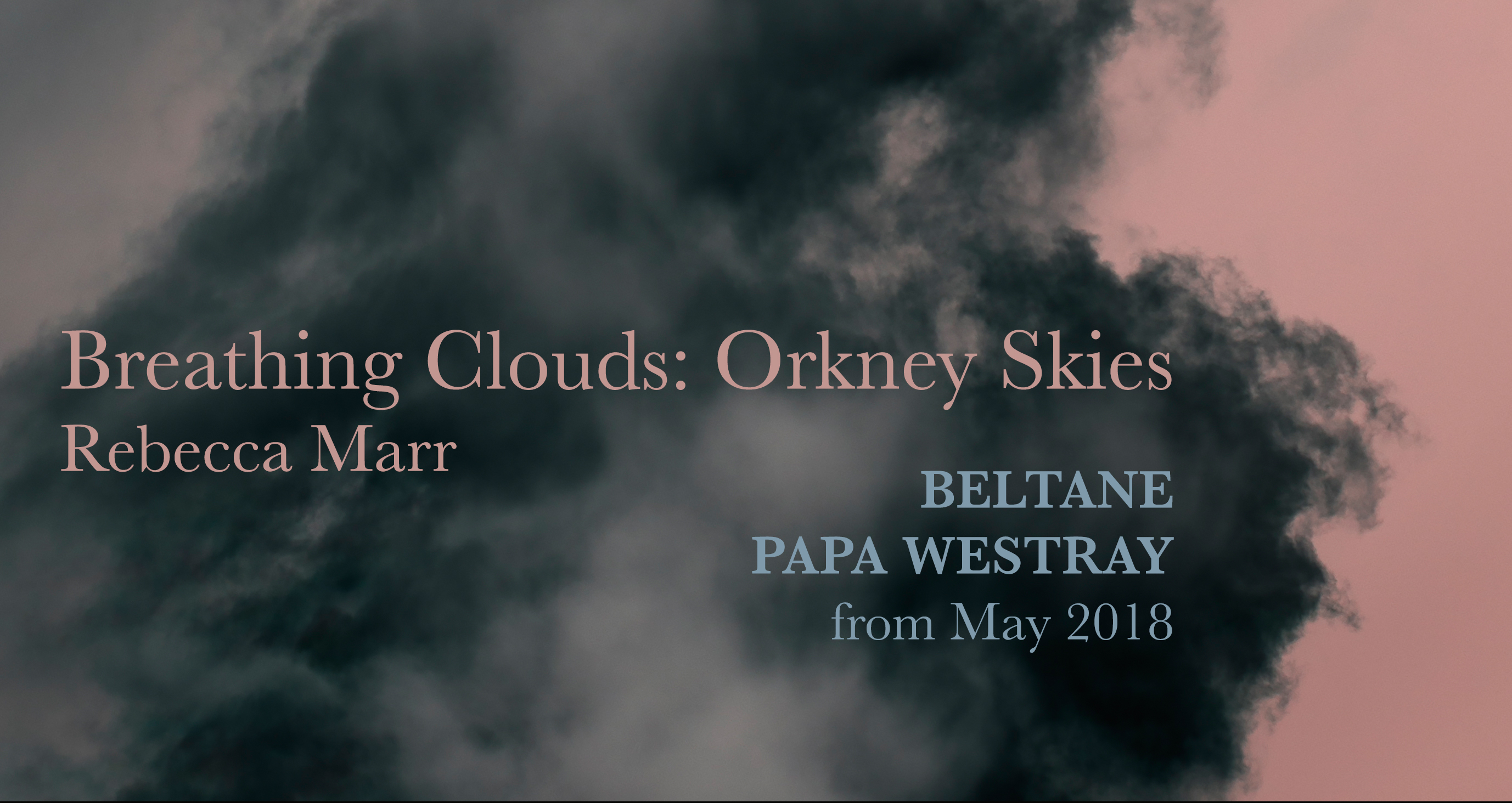 Breathing Clouds Papay poster2